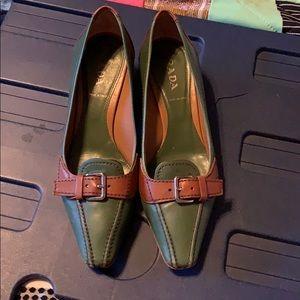 Vintage Prada leather shoes